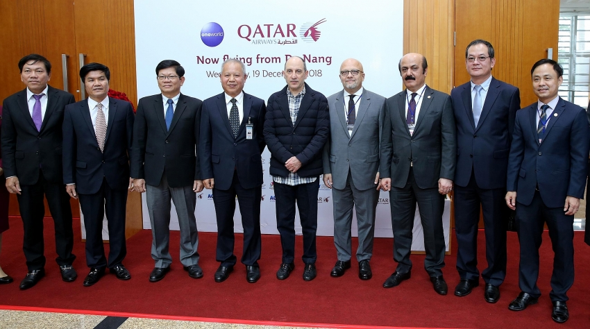 qatar airways breaks into central vietnam with new route to danang