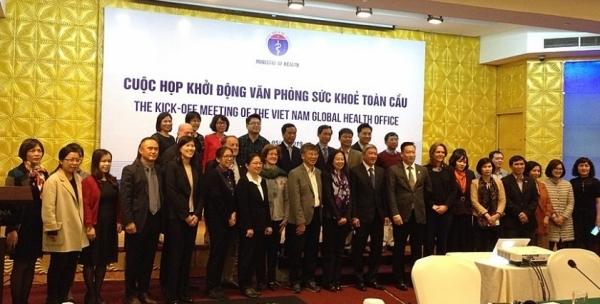 kick off meeting of the vietnam global health office