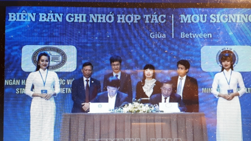 ministry of health state bank of vietnam sign mou on e payment cooperation