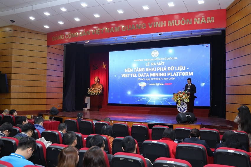 mic launches make in vietnam viettel data mining platform