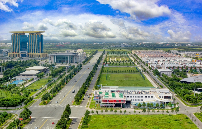 binh duong new city thrumming with activity