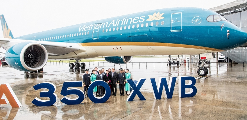 vietnam airlines completes its fleet of 14 airbus a350s