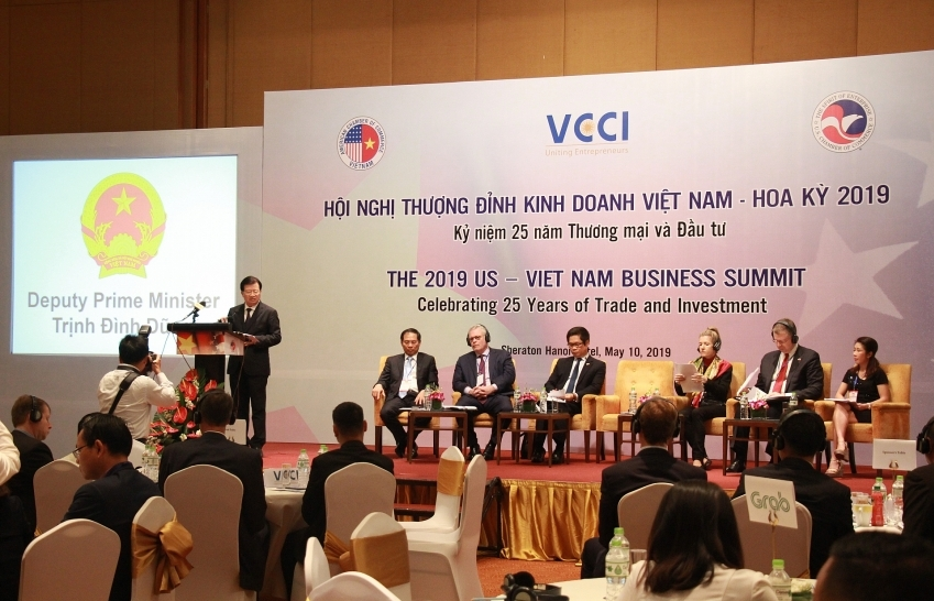 business discussions to advance us vietnam trade and investment
