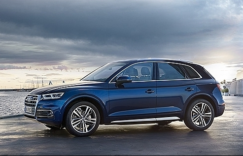 hundreds of audi q5 recalled in vietnam due mudguard error
