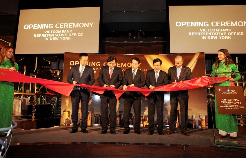 vietcombank officially opens representative office in new york city