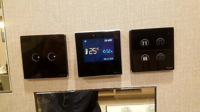 images of vingroup smart home devices appear online