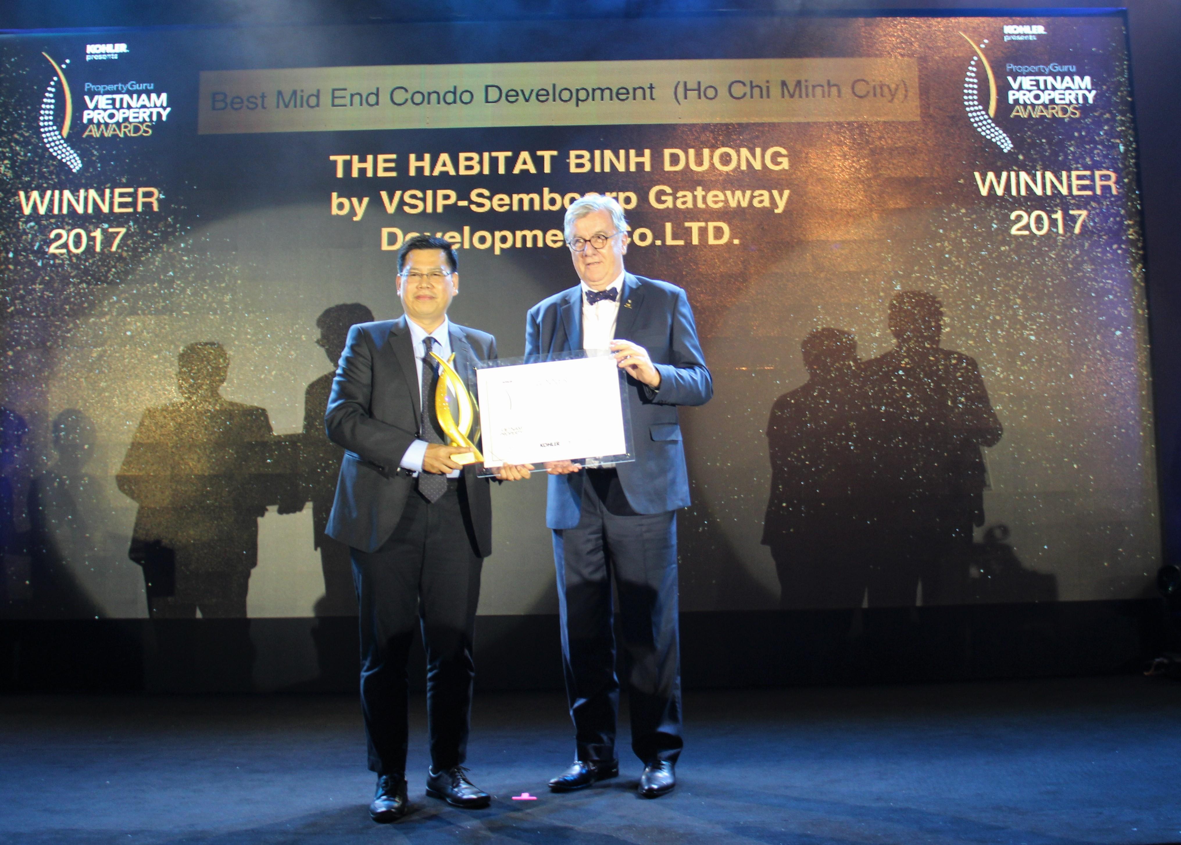 VSIP The Habitat Binh Duong wing Vietnam Property Award