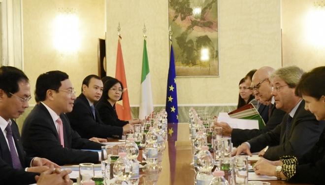 evfta boosts export import opportunities between vietnam and italy