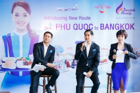 Bangkok Airways to launch the new direct route between Phu Quoc and Bangkok