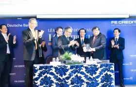deutsche bank provides a 100 million loan to fe credit