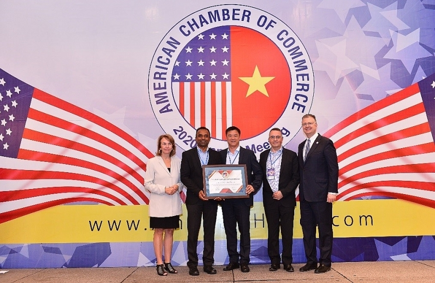 pg vietnam gains amcham csr award for fourth straight year