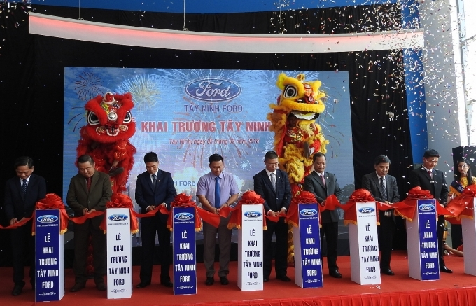 ford launches new dealership in southern vietnam