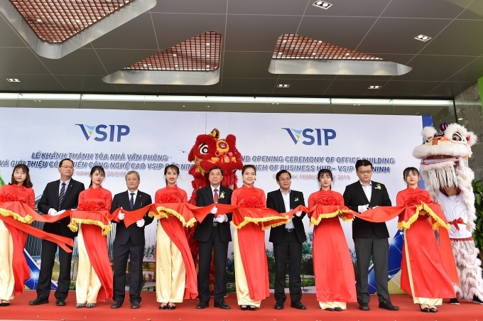 vsip bac ninh opens office building and launches inno biz hub