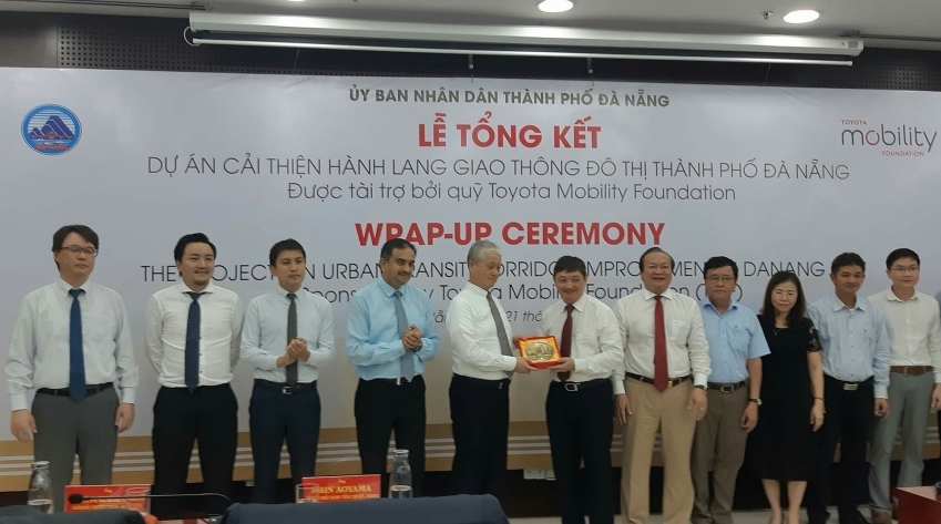 danang wraps up urban transit corridor improvement project