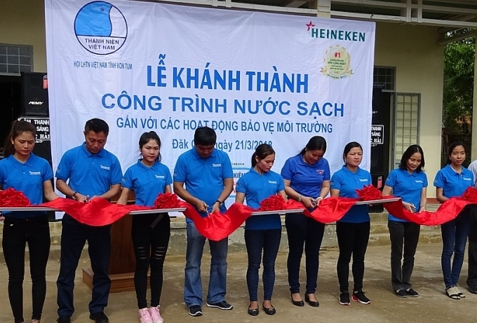 heineken vietnam continues community support in can tho and kon tum