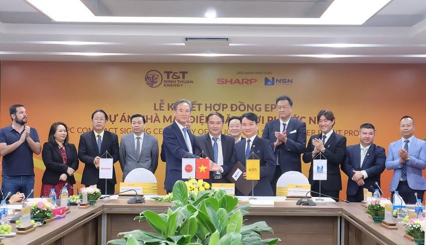 sesj sssa nsn consortium signs epc deal for phuoc ninh solar project