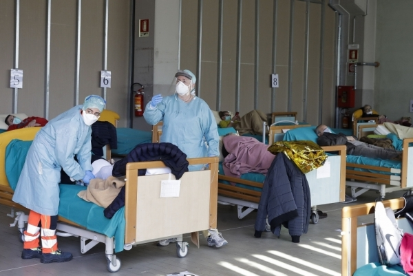 bayer donates 1 million for hospitals in lombardy