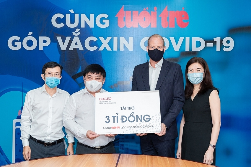 diageo vietnam donates 130430 to help thousands get free vaccination