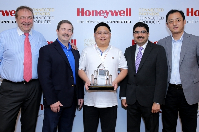 honeywell awards top performing channel partners at apac conference