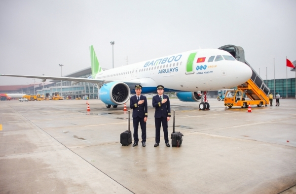 bamboo airways welcomes newly released a320neo aircraft for continued fleet expansion
