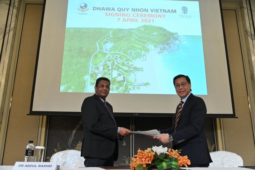 pegasus inks agreement with banyan tree to manage dhawa quy nhon resort