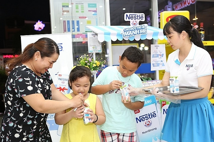 nestle vietnam rolls out fresh low sugar milk products