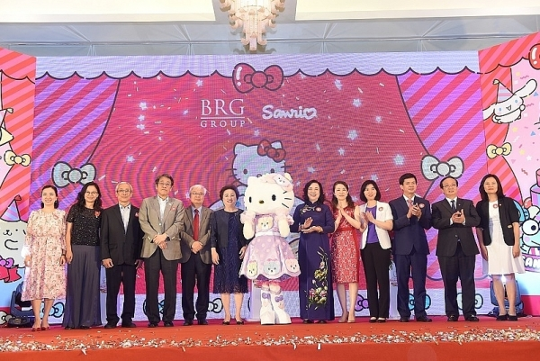 brg rolls out sanrio hello kitty world hanoi project