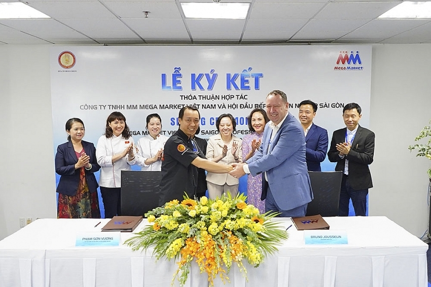 mm mega market vietnam teams up with saigon professional chefs guild