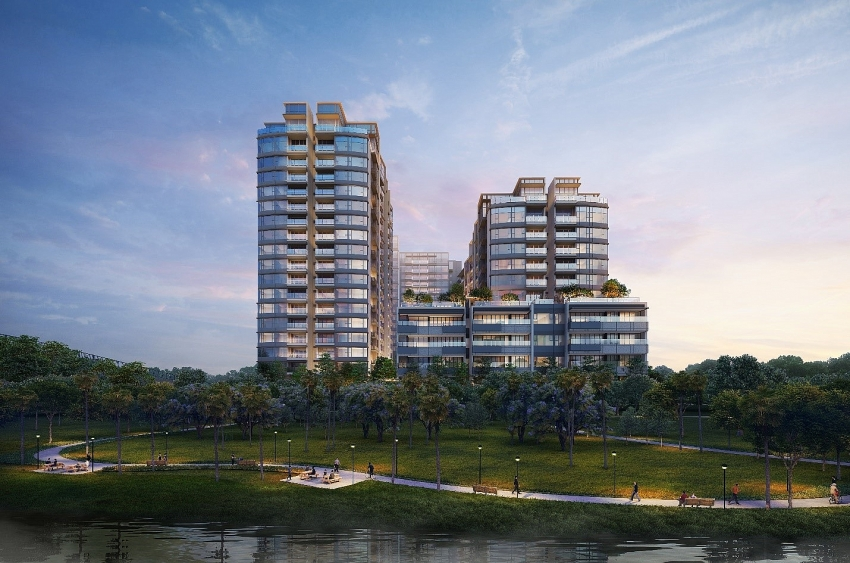 the river star of thu thiems luxury apartment sector