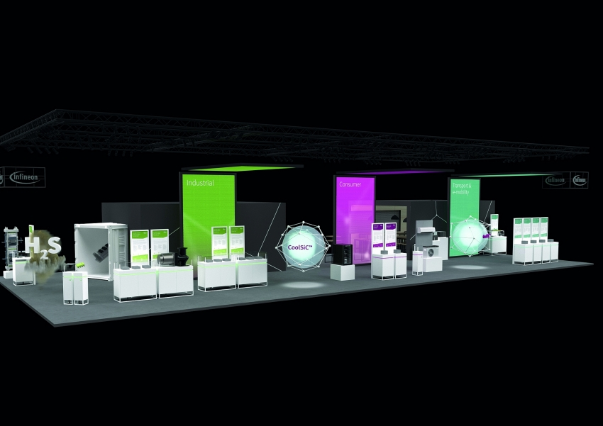 infineon invites visitors to a virtual tour of its trade shows