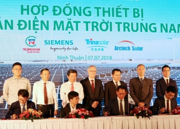 siemens provides equipment for vietnams largest solar farm