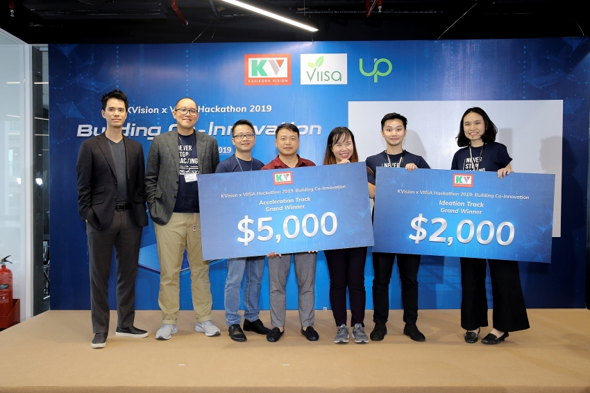 kvision x viisa hackathon 2019 rewards creative disruptive solutions