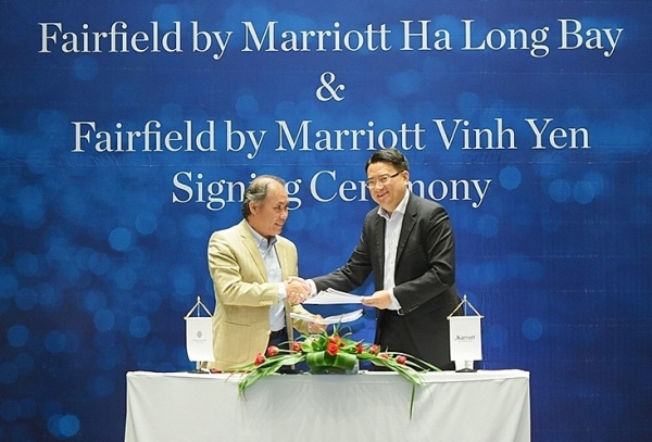 fairfield by marriott signs first two contracts in vietnam