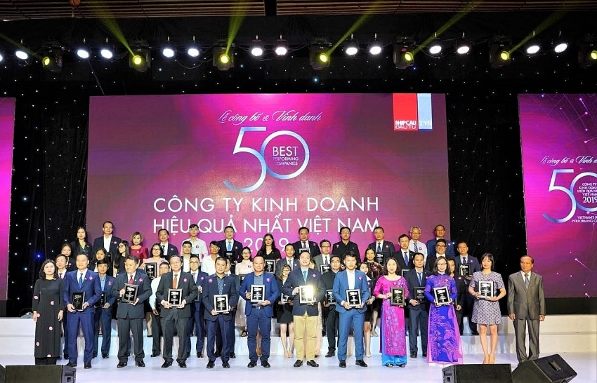 novaland awarded in the list of vietnams 50 best performing firms 2019