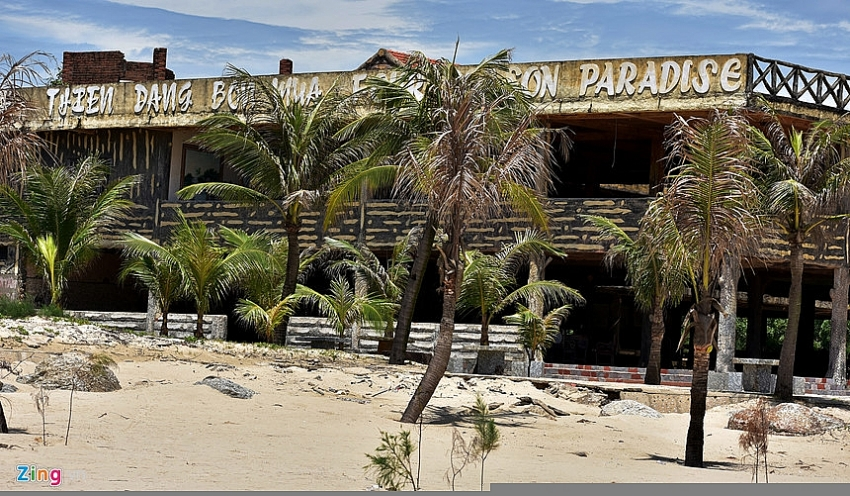 paradise eco resort 13 years on the drawing board
