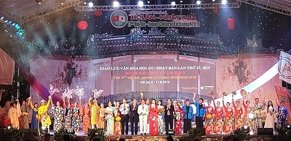 hoi an japan cultural exchange 2019 a fanfare of memorable activities