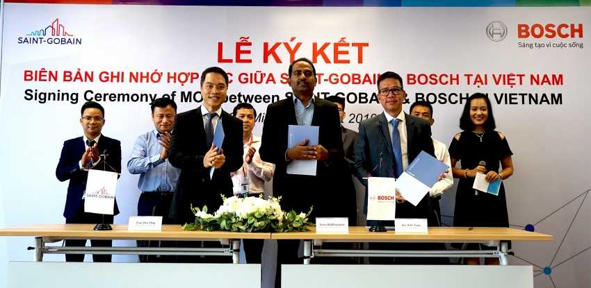 bosch vietnam signs partnership to provide power tools to saint gobain