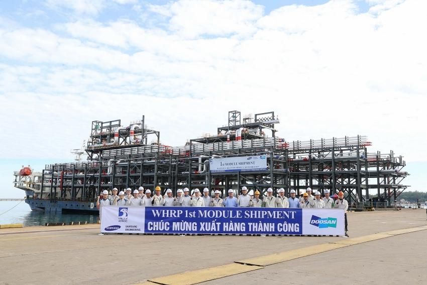 doosan vina exports 12 modules to ruwais refinery