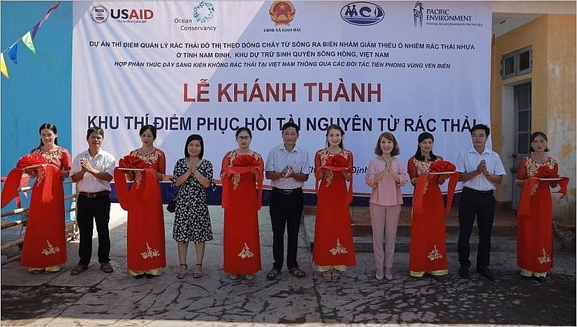 mcd and partners deepen footprints for environmental care in nam dinh