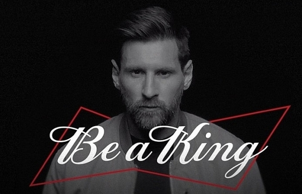 budweiser partners with lionel messi as new global brand ambassador