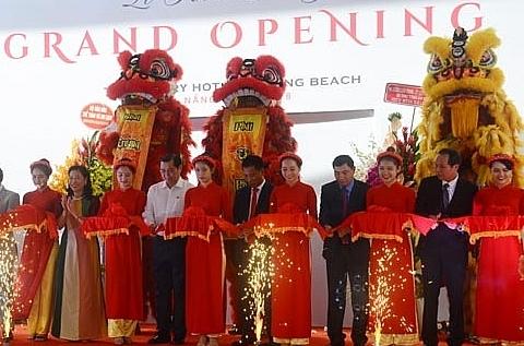 jubilant launching of tms luxury hotel danang beach