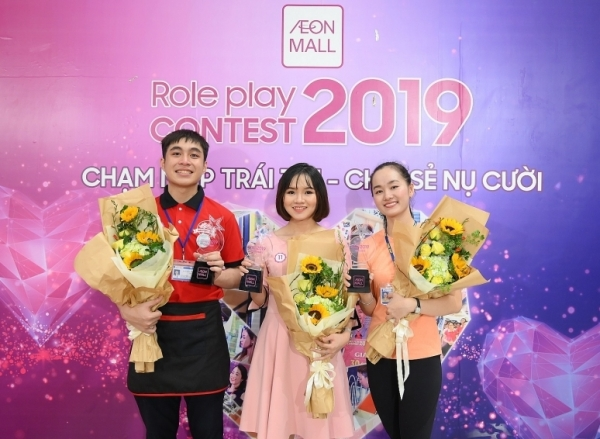 aeonmall wins customers heart in finals of role play contest 2019