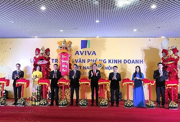 aviva vietnam launches second sales office in hanoi