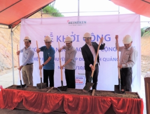 heineken vietnam supports clean water project in quang nam