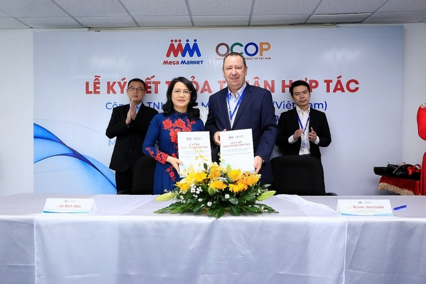 mm mega market vietnam beefs up production and consumption of ocop products