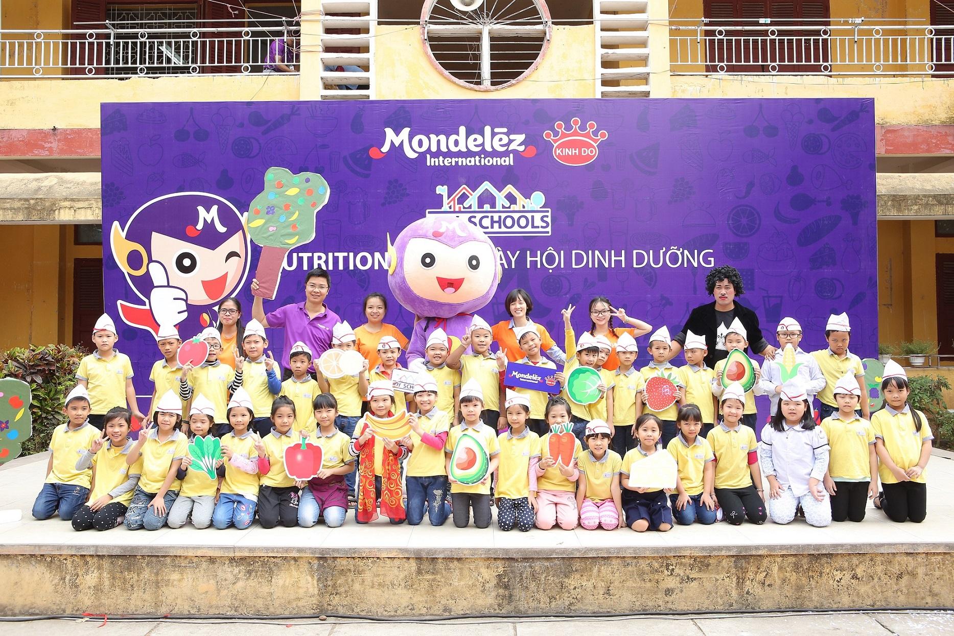 mondelez kinh do launches joy schools nutrition programme