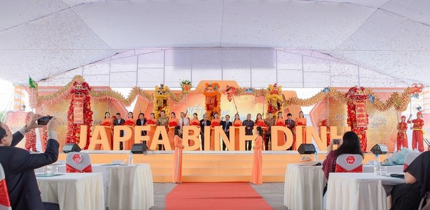 japfa comfeed vietnam inaugurates sixth animal feedmill in binh dinh