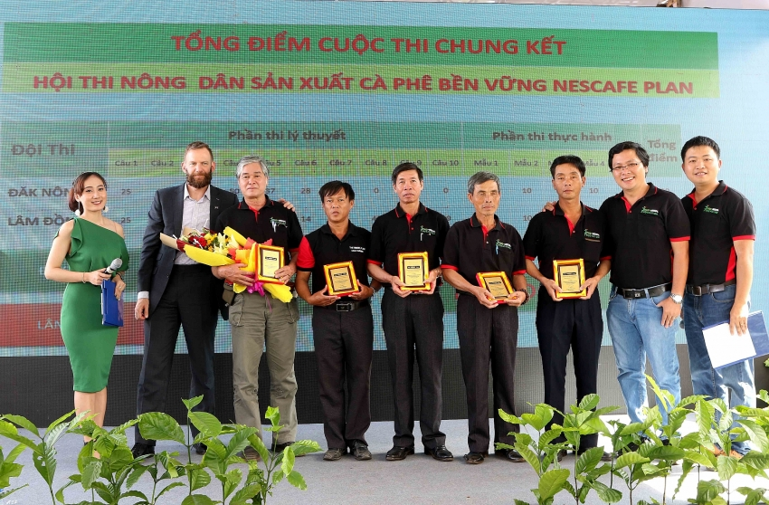 nescafe plan devotes to vietnamese coffee sustainable development
