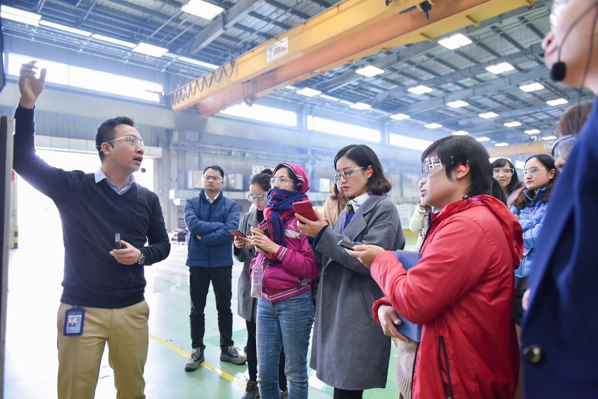 ges haiphong brilliant factory drives transformation