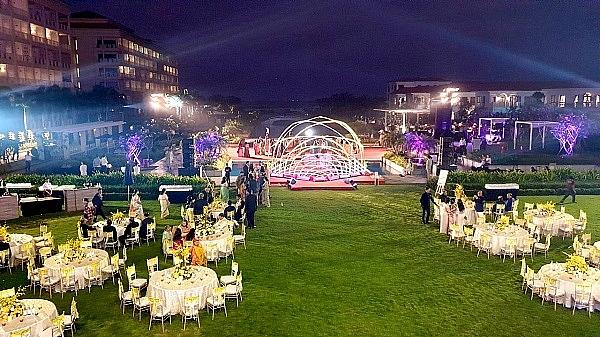 mysterious wedding of super rich held at sheraton grand danang resort
